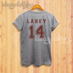 Teen Wolf Lahey 14 shirt Isaac Lahey t-shirt by ideazClothing