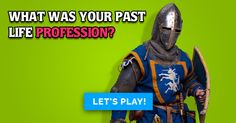 What Was Your Past Life Profession? Fun Personality Quizzes, Past Life, Entertaining, Funny