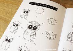 Hoe teken ik woodland 2