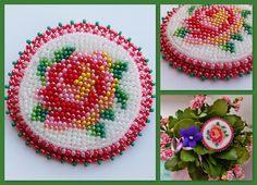 Приятная мелочь 1 Роза   biser.info - всё о бисере и бисерном творчестве