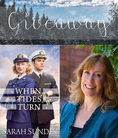 Thinking Thoughts: Sarah Sundin {Writer Wednesday} sharing about her new novel, When Tides Turn. Plus a book giveaway - March 15-21, 2017! @sarahsundin @eahendryx