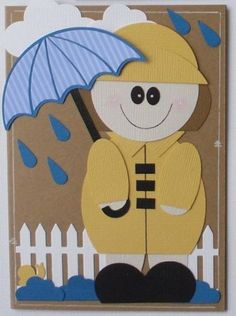 Splitcoaststampers FOOGallery - Rain or Shine (girl)