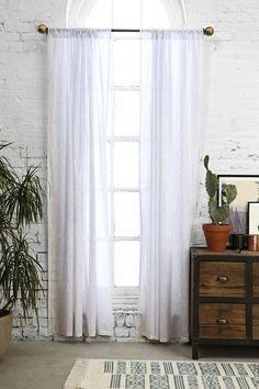 Magical Thinking Splatter-Print Curtain $29.99