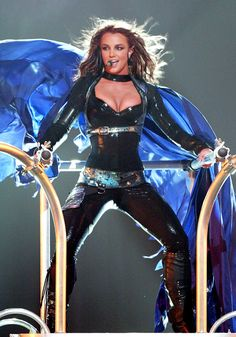 Pin for Later: Bet You Can't Believe All of This Happened 10 Years Ago! Britney Spears was your idol. She killed it on the Onyx Hotel Tour.
