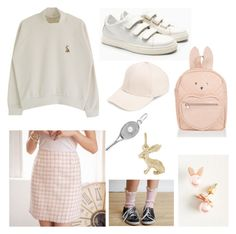 """""""TENNIS BUNNY"""" by ukafa on Polyvore featuring Mode, Tokyo Fashion, Monsoon, David & Young und Rembrandt Charms"""