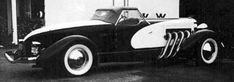 Gordon Buehrig, Gordon M. Buehrig, Cord 810, Duesenberg, Auburn, biography, designer, stylist, Tourster, Beverly, Twenty Grand, car designer, T-top, Auburn Speedster, Auburn 851, Continental Mark II, Tasco, Ford Victoria Coupe - CoachBuilt.com