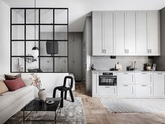 article reveals the low down on ikea studio apartment layout small spaces 105 Apartment Interior, Apartment Design, Kitchen Interior, Home Interior Design, Apartment Kitchen, Luxury Interior, Small Space Living, Small Spaces, Tiny Living