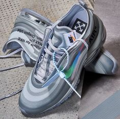 Purchase Top Quality UA Off-White X Air Max 97 Grey Blue Sneakers from Artemis  Outlet Online with Affordable Cheap Price. c1d7f270cdaff