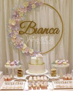 23 Ideas For Party Birthday Decoration Diy Bridal Shower Diy Birthday Decorations, Bridal Shower Decorations, Wedding Decorations, Table Decorations, Wedding Table Names, Diy Wedding, Trendy Wedding, Wedding Flowers, Deco Buffet