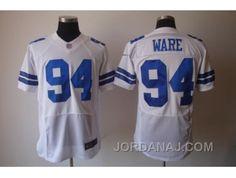 http://www.jordanaj.com/nike-dallas-cowboys-94-ware-white-elite-jerseys.html NIKE DALLAS COWBOYS #94 WARE WHITE ELITE JERSEYS Only $23.00 , Free Shipping!