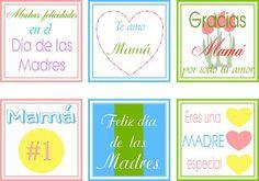 Imprimible: Etiquetas para los regalos del Día de las Madres, via Aprendizaje Divertido