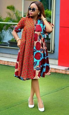 Ankara Short Gown Styles Combination Design for Next Party. Ankara Short Gown Styles Combination Design for Next Party Short African Dresses, Ankara Short Gown Styles, Trendy Ankara Styles, Latest African Fashion Dresses, African Print Dresses, African Print Fashion, African Prints, Ankara Fashion, Africa Fashion