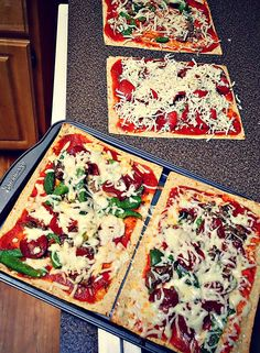 Low Calorie Flatbread Pizzas! – Simply Taralynn
