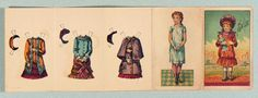 """Paper Dolls, 1790-1940 - The Collection of Shirley Fischer: 63 American Paper Doll """"Sallie"""" by Peter Thomson"""