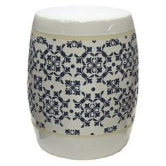 Outdoor Sagebrook Home Delft Garden Stool - FC10260-02