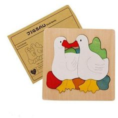 Candywood Wood Puzzle Animal Transport Multi-imensional Jigsaw multilayer cartoon puzzle Educational Montessori Toy for ChildStyle: AnimalGender: UnisexAge R 3d Puzzles, Puzzles For Kids, Wooden Puzzles, Wooden Toys, Cartoon Puzzle, Ugly Duckling, Montessori Toys, As You Like, Being Ugly