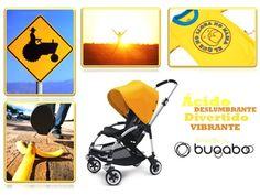 Ácido, deslumbrante, divertido y vibrante. Así es el Bugaboo #Bee #amarillo para Objetivo pero parcial #Moodboard #quieroserembajador #atodocolor #bugabooespana @BugabooES @Madresfera