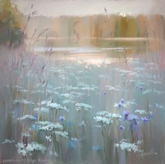 Pastels by Olga Abramova Pastel Landscape, Watercolor Landscape, Landscape Art, Landscape Paintings, Watercolor Paintings, Soft Pastel Art, Pastel Drawing, Soft Pastels, Scale Art