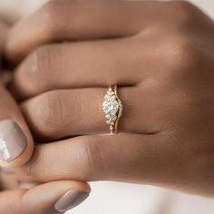 Curved Wedding Band, Diamond Wedding Bands, Diamond Rings, Dream Engagement Rings, Delicate Engagement Ring, Vintage Engagement Rings, Unconventional Engagement Rings, Most Beautiful Engagement Rings, Designer Engagement Rings