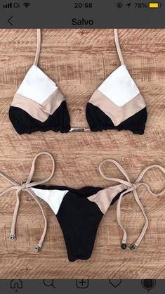 Sexy Halter Swimsuit Women Thong Micro Bikini Push Up 2019 Brazilian Bikini Tropical Plant Print Swimwear String Mini Swimsuit Vendor: Rocky Pitbull Type: default Price: Leopard Bikinis Lindos, Bikini Outfits, Cute Bathing Suits, Push Up Bikini, Bikini Set, Bikini Swimsuit, Sexy Bikini, Cute Bikinis, Summer Bikinis