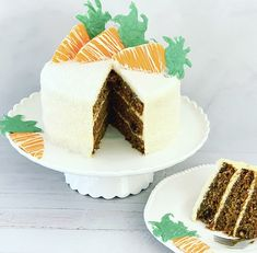 If you love super moist carrot cake packed with spicy flavour, this is the perfect recipe for you Cream Cheese Icing, Cinnamon Cream Cheeses, Baking Recipes, Cake Recipes, Moist Carrot Cakes, Icing Frosting, Quick Bread, Perfect Food, Favorite Holiday