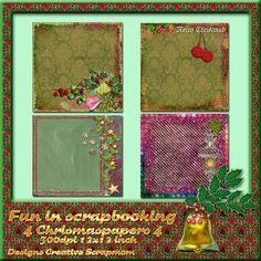 Welkom bij Creative Scrapmom: Fun in scrapbooking 4 christmaspapers 4