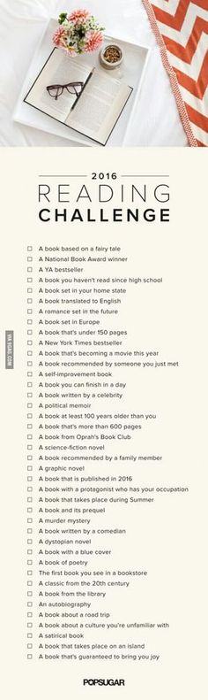 Cause reading is FUNDAMENTAL! Okay i totally sucked at the 2015 challenge, so lets try again.