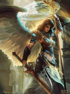 The Valkyrie rarely go to war as they are tasked with the duty of Embracing dying warriors and easing their souls to their final rest in the Halls of the Valkyrie. But when they are given a reason, they make a deadly enemy or a loyal ally.