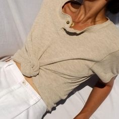 Vintage cream cotton