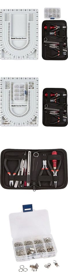 Other Jewelry Making Kits 162102: Jewelry Making Starter Kit Includes Jewelry Tool Kit Complete Bead Board ... New -> BUY IT NOW ONLY: $34.61 on eBay!