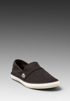 LACOSTE Marice TBC in Black / Dark Green at Revolve Clothing - Free Shipping!