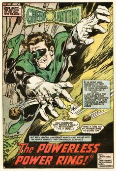 Green Lantern - Neal Adams