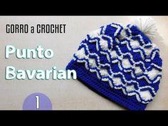 Gorro Crochet Punto Bavarian / Aprende a tejer | Todo crochet