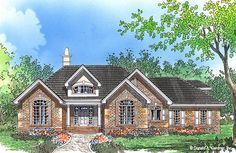 Home Plan The Peabody by Donald A. Gardner Architects