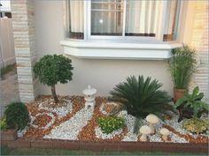 Stone garden design  #design #garden #stone