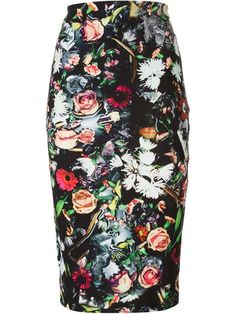Shop McQ Alexander McQueen Festival Floral print pencil skirt in  from the world's best independent boutiques at farfetch.com. Shop 300 boutiques at one address.