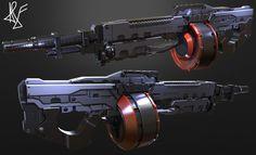 Sci-fi Rifle , Aurelio La Ferla on ArtStation at https://www.artstation.com/artwork/sci-fi-rifle-cab81f55-1f76-4780-aaaa-8001eb67475c