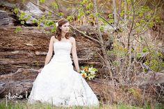 Crystal Bridges Trail   Bridal Session   Bridal Portrait Pose