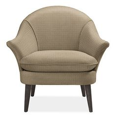Like the shape of this chair (from Room and Board); tried it in the store and it's very comfy.