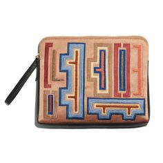 Safari Clutch In Hanoi Print from Lizzie Fortunato