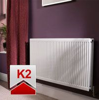 Quinn Roundtop Radiator 700mm High x 400mm Wide (Double Convector)