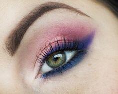 """Pastelove"" By Candy Killer using Makeup Geek's eye shadows in Mango Tango, Neptune, and Simply Marlena."