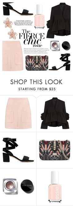 """""""Untitled #145"""" by raniaghifaraa ❤ liked on Polyvore featuring See by Chloé, Rachel Comey, Valentino, Bobbi Brown Cosmetics, NAKAMOL and Nicole"""