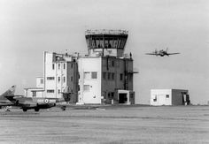 The ATC Tower at RAF Brawdy.