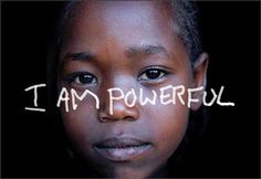 No matter what race size or background you have , you can always empower yourself.
