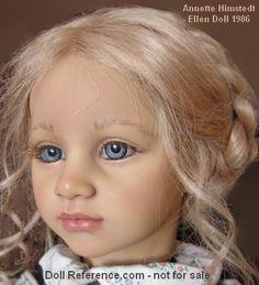 """1986 Annette Himstedt Ellen doll 26"""""""