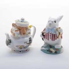Paul Cardew Alice in Wonderland salt and pepper shakers