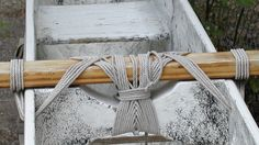 Tradition.  This is how a iako is lashed to the wa'a.  If some of the lashing gives, the rest takes up the slack.
