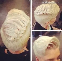 20 Short Hair Hairstyles - 10 #ShortBobs