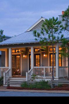 Design Chic - beach house love - don't need a mansion. Just a cute, quaint house by an ocean. That's all, please?